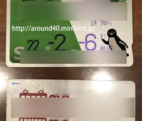 電子マネーのSUICA